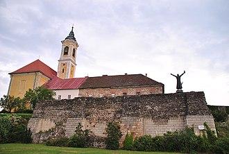 Vác - Image: Római katolikus templom, volt ferences templom (7507. számú műemlék)