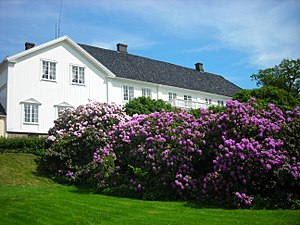 Foundations in Norway - The interior of the Rød Manor is owned by the foundation The Anker Collections.