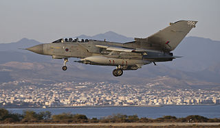 Royal Air Force station, on the Mediterranean island of Cyprus