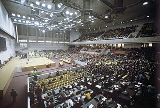 Weightlifting at the 1980 Summer Olympics - Venue of the competition as it appeared during the Games. RIAN photo.