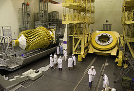 RIAN-Archiv 930415 Russisches Spektr R Weltraum-Radioteleskop.jpg