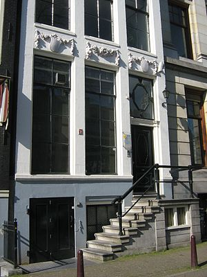 RIPE - Previous RIPE NCC offices at 258 Singel, Amsterdam