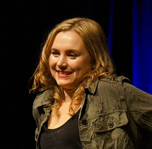 Rachel Miner - Miner at Salute to Supernatural Chicago 2012