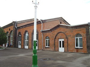 Railroad station in Armavir (Armavir, Armenia).JPG