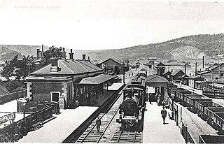 Eskbank railway station, New South Wales