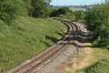 Railway at Aston Magna, looking NNW - geograph.org.uk - 68385.jpg