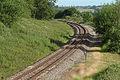 Railway at Aston Magna, looking NNW - geograph.org.uk - 68385.jpg