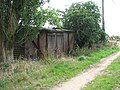 Railway goods van - farm shed - geograph.org.uk - 1413231.jpg