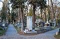 "Rakowicki Cemetery, grave of Feliks Jasieński ""Manggha"" (Polish critic and art collector), 26 Rakowicka street, Kraków, Poland.JPG"