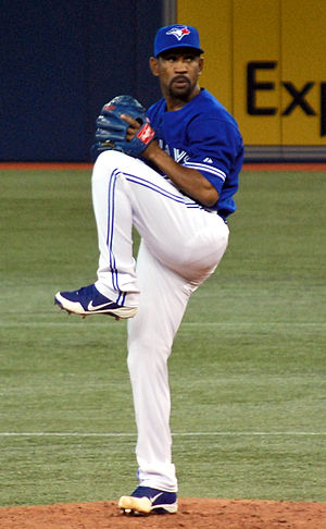 Ramón Ortiz - Ortiz with the Toronto Blue Jays