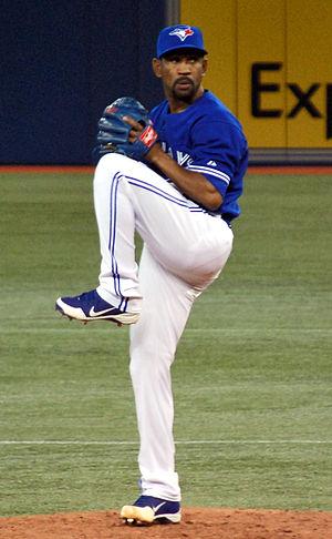 Ramón Ortiz - Ortiz with the Toronto Blue Jays