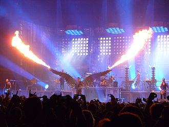 Industrial metal - Rammstein Live at Madison Square Garden.