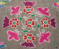 Rangoli at Nizampet 01.JPG