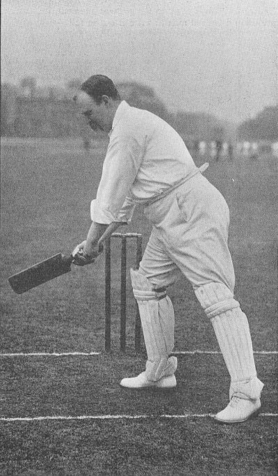 Ranji 1897 page 337 K. J. Key's push-stroke in the slips.jpg
