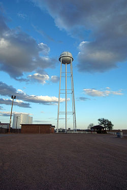 Ransom Canyon water tower
