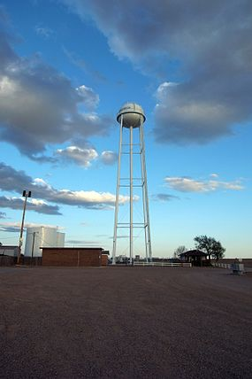 Ransom Canyon Water Tower 2009.jpg