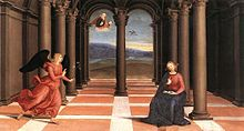 Raphael - The Annunciation (Oddi altar).jpg