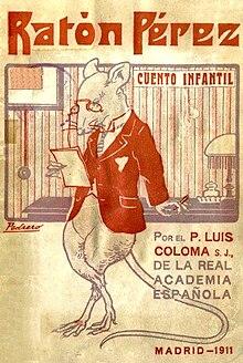Resultado de imagen de Ratón Pérez. Luis de Coloma