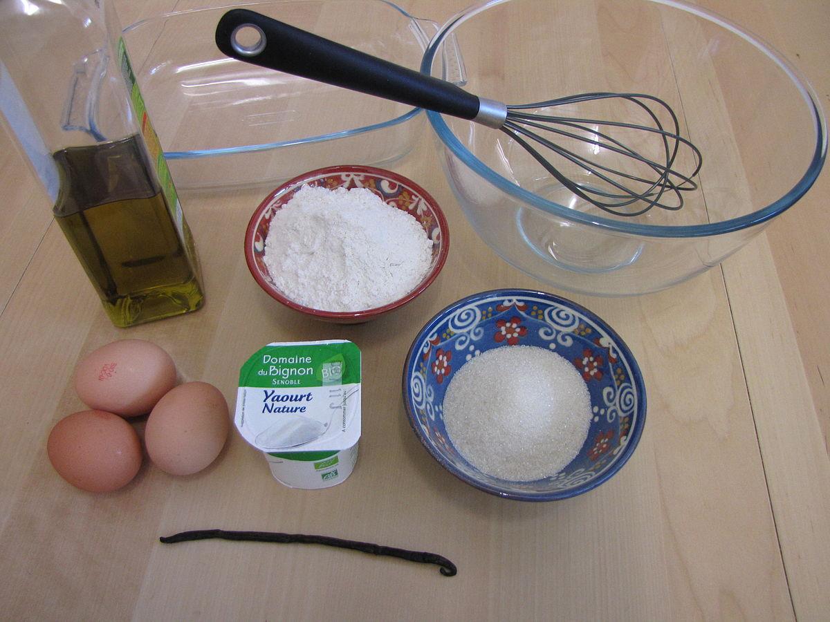 Calorie gateau au yaourt entier