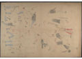Red Horse pictographic account of the Battle of the Little Bighorn, 1881. 0400.png