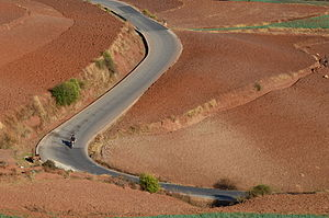 Dongchuan District - Image: Red earth