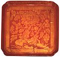 Red lacquer tray with gold engraving, Song Dynasty.jpg
