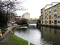 Regent's Canal, Cat and Mutton Bridge - geograph.org.uk - 1728434.jpg
