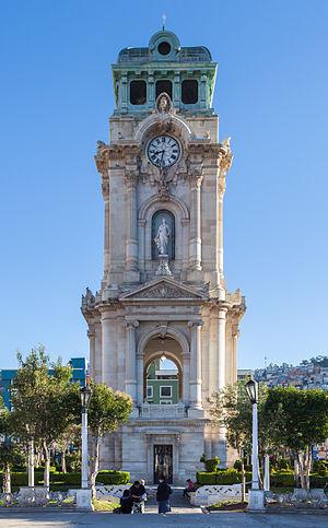 Reloj Monumental de Pachuca  Wikipedia la enciclopedia libre