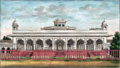 Reminiscences of Imperial Delhi The Diwan-i 'Am from the west.png