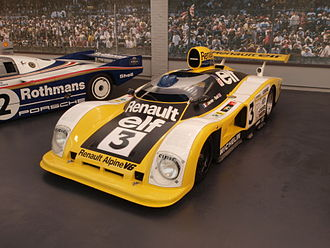 Renault Alpine A442 - The 1978 Jarier/Bell A442A, displaying the acrylic bubble canopy introduced for the 1978 24 Hours of Le Mans race