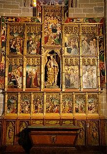 Catedral de santa mar a la real de pamplona wikipedia for Piscinas san juan pamplona