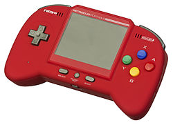 The Retro Duo Portable, able to play SNES, NES & Genesis games