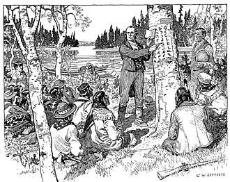 James Evans (linguist) - Teaching Indians his system