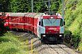 RhB Ge 4-4 III, Albula line, going uphill near Preda Switzerland.jpg
