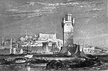 Rhodes tower c1830.jpg
