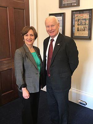 Suzanne Bonamici - Bonamici with Oregon Secretary of State Dennis Richardson
