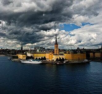 Lady Hutton - Image: Riddarholmen, Stockholm