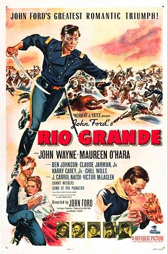 Rio Grande (film) - Image: Rio Grande poster