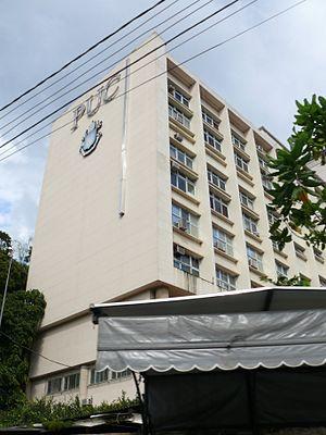 Pontifical Catholic University of Rio de Janeiro - Main building