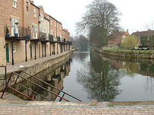 Ripon Canal - Ripon Canal basin, at the end of the Ripon Canal