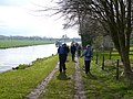 Ripon Canal towpath south of Littlethorpe - geograph.org.uk - 781715.jpg