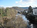 River Dee downstream from Llangollen Bridge - geograph.org.uk - 1731948.jpg