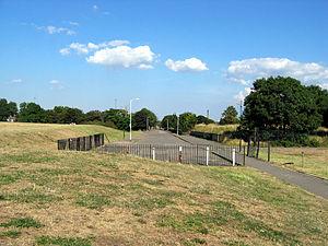 Burgess Park - Street remnant