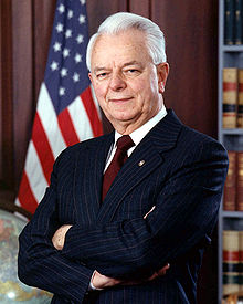Portrait officiel de Robert Byrd.