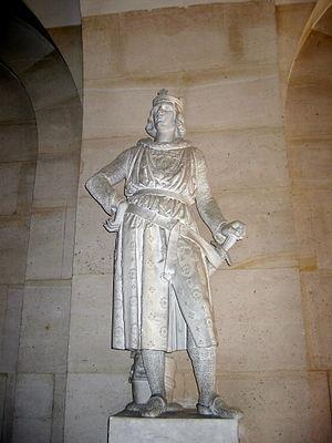 Robert III of Artois - Statue of Robert d'Artois in Versailles