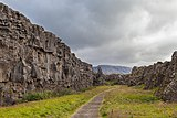 Roca de la Ley, Parque Nacional de Þingvellir, Suðurland, Islandia, 2014-08-16, DD 019.jpg