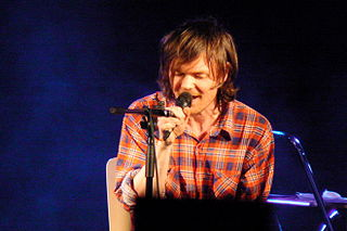 Roddy Woomble Scottish singer-songwriter