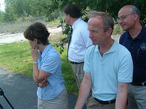Rodney Frelinghuysen - Frelinghuysen tours a Superfund site in his district