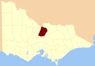 County of Rodney, Victoria Cadastral in Victoria, Australia