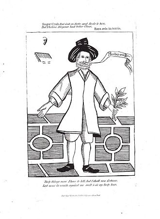 Roger Crab - Roger Crab, as pictured in an 1813 edition of James Caulfield's Portraits, memoirs, and characters of remarkable persons, from the reign of Edward the Third, to the Revolution